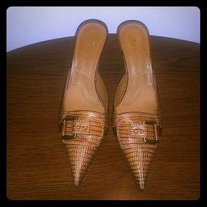 Tahari open back shoe